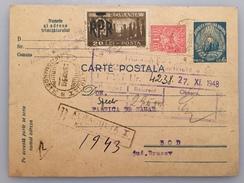 Romania - Fabrica De Zahar Bod - CP Corespondenta Cu Diverse Firme, Perioada Interbelica! - Covers & Documents