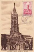 Carte-Maximum FRANCE N° Yvert 772 (SAINT-SERNIN TOULOUSE) Obl Sp 1er Jour (Ed Narbo Pt Ft) - 1940-49