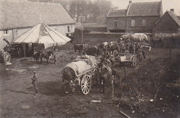 59 Hornaing Nord Ferme Quartier Im Hof 1918 Train Deutsche Soldaten 1.Weltkrieg - France