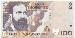 ALBANIA 100 LEKE 1996 PICK 62 UNC - Albanie