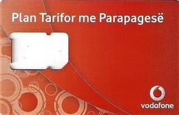 *ALBANIA - VODAFONE* - Supporto GSM - Albania