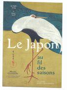 CPM Le Japon Au Fil Des Saisons Grues Suzuki Kiitsu - Musée Cernuschi Paris 8ème - Cart'com 2015 Dos Imprimé - Museum