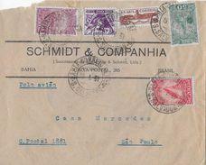 BAHIA 1934 - Letter Schmidt & Companhia To Casa Mercedes Sao Paulo - Lettres & Documents