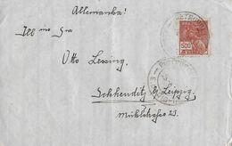 PETROPOLIS 1930 - Letter To Leipzig Allemanja - Lettres & Documents
