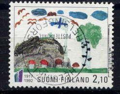 FINLANDE. - 1153° - 75è ANNIVERSAIRE DE L'INDEPENDANCE DE LA FINLANDE - Finlande