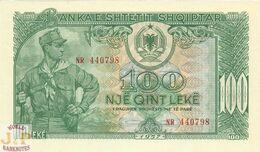 ALBANIA 100 LEKE 1957 PICK 30a UNC - Albanië