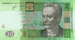 UKRAINE 20 ГРИВНЯ (HRYVEN) 2013 P-120d  [UA849d] - Oekraïne