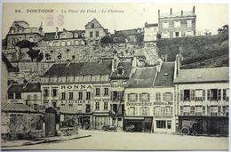 LA PLACE DU PONT - LE CHATEAU - PONTOISE - Pontoise