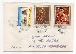 Roumanie-1990-Lettre De CLUJ-NAPOCA Pour ASNIERES-92(France) -beaux Timbres  -cachet CLUJ - Cartas