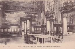 Monaco Monte Carlo Salle Du Trente Et Quarante - Casino