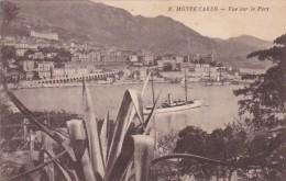 Monaco Monte Carlo Vue Sur Le Port 1934 - Harbor