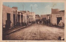 Tunisia Mateur Rue La Nahalia Street Scene - Tunisia