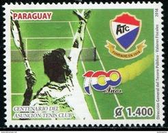 SV0154 Paraguay 2014 Tennis Game 1V MNH - Sonstige