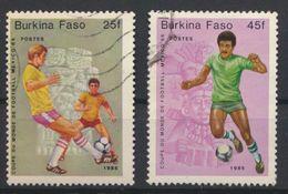°°° BURKINA FASO - Y&T N°666/67 - 1985 °°° - Burkina Faso (1984-...)
