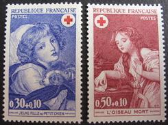 LOT VL4384/77 - 1971 - CROIX ROUGE - N°1700 à 1701 NEUFS** - France