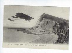 CPA Blériot En Vue Des Côtes De L'Angleterre Collection Nos Aéroplanes N° 69 Publicité Au Soulier D'Argent Rouen - ....-1914: Precursors