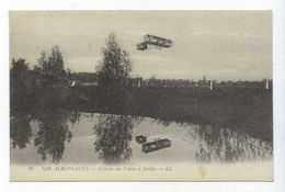 CPA Nos Aéroplanes Gobron Sur L'oisin à Juvisy N° 87 Publicité Au Soulier D'Argent Rouen - ....-1914: Precursors