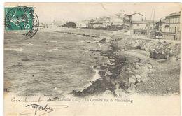 MARSEILLE 647 LA CORNICHE VUE DE MONTREDONE  ***  RARE        A  SAISIR *** - Marseilles