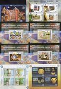 Blocks CEPT 1956-2006 SHQIPERIA PERU Latvija Georgia Serbija ** 80€ Hojas Ss Blocs Stamps On Stamp Sheets Bf EUROPA - Emissions Communes