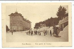 Font Romeu ,une Partie De Hockey - France