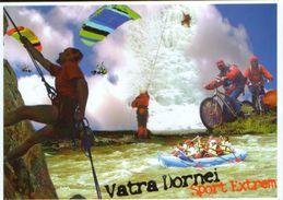 Romania - Postcard Unused - Bucovina-Vatra Dornei-Multiple Views:climbing, Mountain Biking,rafting,paragliding- 2/scans - Alpinisme