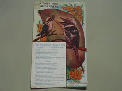 AUSTRALIE A TOKEN FROM AUSTRALIA THE KOOKABURRAS' EVENING SONG - Australie