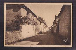 CPSM 64 - OGEU-LES-BAINS - Rue Principale - TB PLAN RUE CENTRE VILLAGE Détails Maisons + Oblitération 1947 - Autres Communes