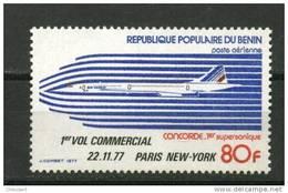Rep. Benin ** PA N° 278 - 1er Vol Commercial De Concorde - Benin - Dahomey (1960-...)