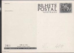 3180  Entero Postal, Bilhete Postal Ilustrado, Portugal Nuevo - Entiers Postaux