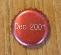 Capsule Capsules Dec. 2001 - Capsules & Plaques De Muselet