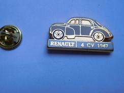 Beau Pin's En Zamac , Auto Renault 4 CV 1947 - Renault