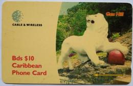 Barbados 284CBDA  Gun Hill $10 - Barbados