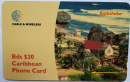 Barbados 263CBDG Bathsheba $20 - Barbados