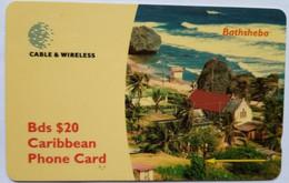 Barbadios 284CBDC  Bathsheba $20 - Barbades