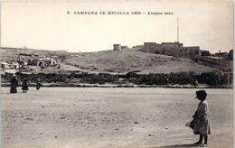 ESPAGNE -- MELILLA --  Campana 1909 - Ataque Seco - Almería