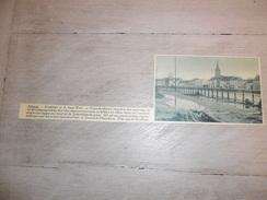 Origineel Knipsel ( 577 ) Uit Tijdschrift  :  Selzaete  Zelzate   1937 - Vieux Papiers