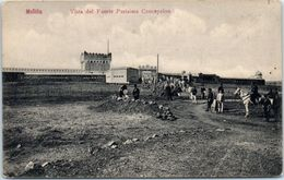 ESPAGNE -- MELILLA -- Vista Del Fuerte Purisima Conception - Almería