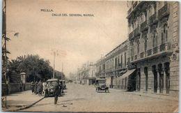 ESPAGNE -- MELILLA -- Calle Del General Marina - Almería