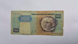 ANGOLA 1000 KWANZAS 1984 - Angola