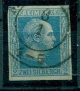 Preussen. König Friedrich Wilhelm IV., Nr. 7 A X Gestempelt - Prussia