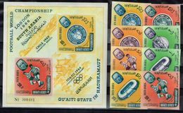 South Arabia.Aden. 1966 World Cup.Soccer.Football.Fussball.Imperforated.MNH.** - Copa Mundial