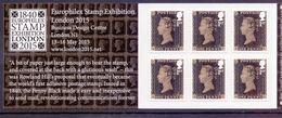 Great Britain 2015 MB 13 PENNY BLACK ANNIV. Booklet Cat. £ 12,00 - 1952-.... (Elisabetta II)