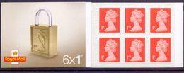 Great Britain 2016 MB 17 PADLOCK 6x1st Booklet Retail £ 6,00 - 1952-.... (Elisabetta II)