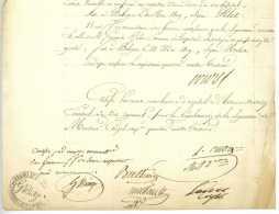 ARMEE D'ITALIE – 28e REGIMENT DE DRAGONS – Bologna 1809 Cuocq Mussault Leduc Biagi Cruzel Napoleon - Documents Historiques
