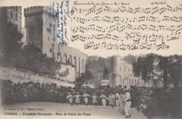 CPA - Avignon - Farandole Provençale - Place Du Palais Des Papes - Avignon
