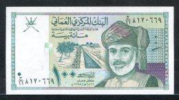 438-Oman Billet De 100 Baisa 1995 Neuf - Oman