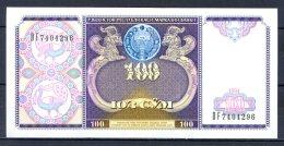 460-Ouzbekistan Billet De 100 Sum 1994 DF740 - Ouzbékistan