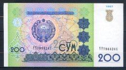 506-Ouzbekistan Billet De 200 Sum 1997 YY794 - Ouzbékistan