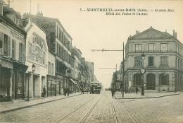 93 .N°39455 . Montreuil Sous Bois.grande Rue - Montreuil