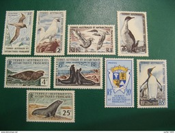 TAAF YVERT POSTE ORDINAIRE N° 12/17 TIMBRES NEUFS** LUXE - MNH - SERIE COMPLETE - COTE 262,00 EUROS - Terres Australes Et Antarctiques Françaises (TAAF)